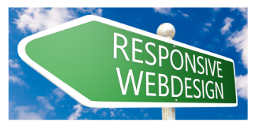 Responsive web design sign